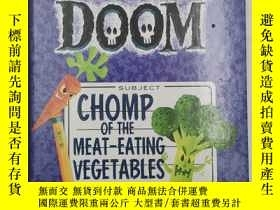 二手書博民逛書店Chomp罕見of the Meat-Eating Vegeta