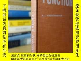 二手書博民逛書店A.罕見I. Markushevich, Entire FunctionsY354044 A. I. Mark