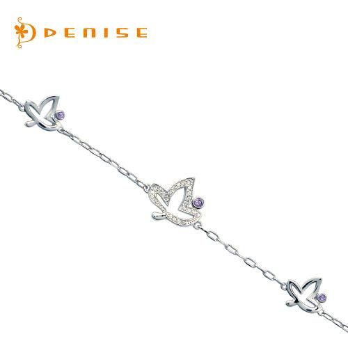 手鍊 925純銀手鍊「楓葉」銀飾禮品/情人禮物