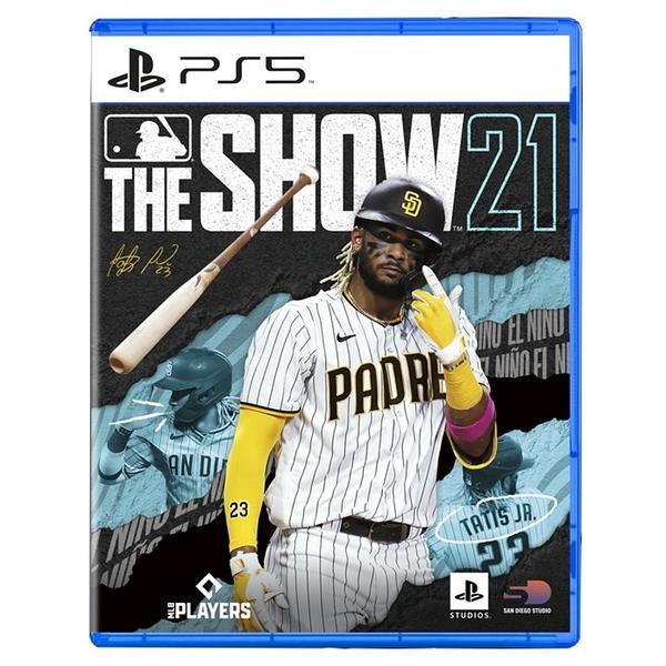 預購4/20上市【PS5原版片】 美國職棒大聯盟21 MLB21 THE SHOW21 英文版全新品【台中星光電玩】