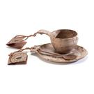 [KUPILKA] 松木餐具禮盒組 (碗、盤、匙) (30GB014)
