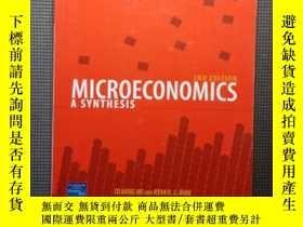 二手書博民逛書店Microeconomics:罕見A Synthesis (2