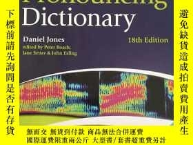 二手書博民逛書店Cambridge罕見English Pronouncing Dictionary 18th Edition 最新