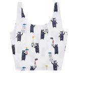 帆布袋 可愛 森林系 彩繪 手提包 帆布袋 單肩包 購物袋--手提/單肩【SPBX16】 icoca  08/29
