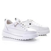【南紡購物中心】Keeley Ann 我的日常生活 小雛菊輕量厚底軟墊休閒鞋.白色