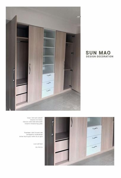 系統家俱/台中系統家具/台中室內設計/台中室內裝潢/系統櫃/收納櫃/衣櫃sm-a0046