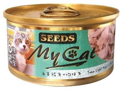 《48HR快速出貨》*KING*【24罐】聖萊西Seeds惜時 MyCat我的貓 機能餐貓罐85g 貓罐頭 六種口味