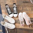 平底鞋‧粉雅青春綁帶平底休閒鞋【KH018】黑 / 白 / 粉(偏小)