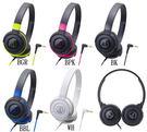 全新 鐵三角 ATH-S100 頭戴式耳機   輕量機身 單邊出線 台灣鐵三角公司貨