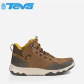 丹大戶外【TEVA】美國 男款 ARROWOOD LUX MID WP 戶外休閒輕量多功能鞋 咖啡 1013643 BRN