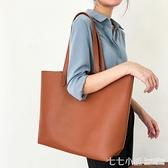 單肩包大容量女大包包2020新款韓版簡約百搭手提職業公文包托特包