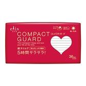 日本大王elis愛麗思 COMPACT GUARD GO可愛日用超薄17cm(36片/包)x1