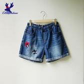 American Bluedeer-星星小鹿牛仔短褲