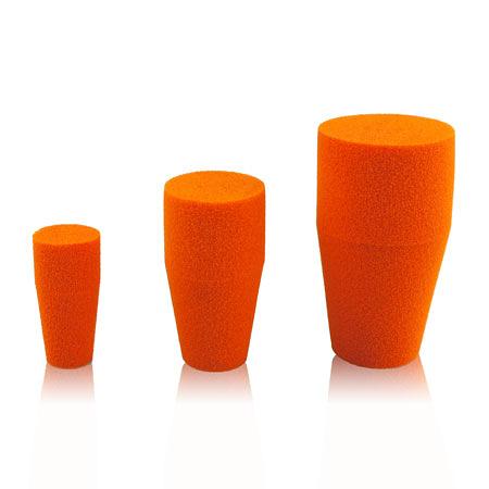 《Shin-Etsu》透氣塞 高透氣 低蒸發量型 Stopper, for Test Tubes, Center Sponge, Silicone