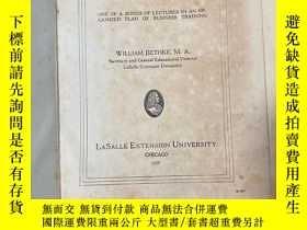 二手書博民逛書店BUSINESS罕見ORGANIZATION AND MANAGEMENTY361203 出版1927