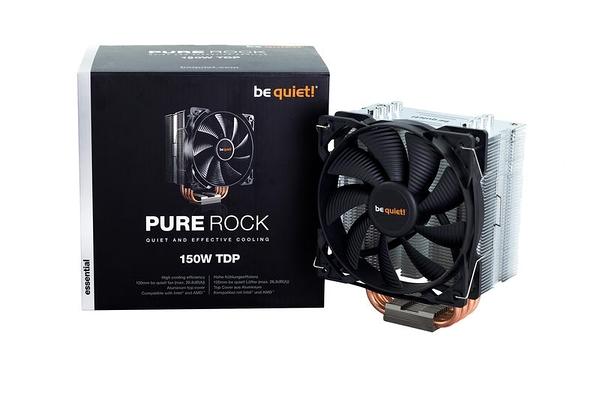 【台中平價鋪】全新 Be quiet! Pure Rock 極靜音四導管塔型散熱器