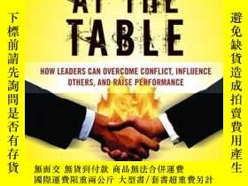 二手書博民逛書店Hostage罕見at the Table: How Leaders Can Overcome Conflict,