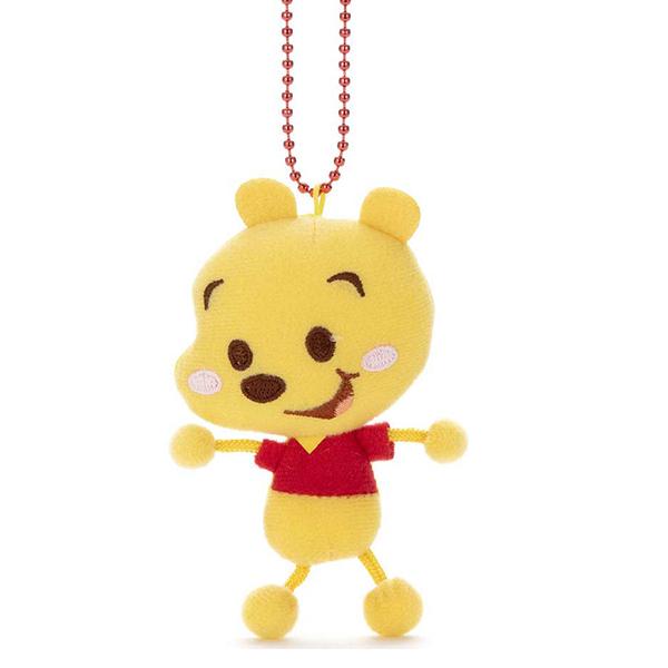 【小熊維尼 娃娃吊飾】迪士尼 小熊維尼 娃娃吊飾 Toy Company 日本正版 該該貝比日本精品 ☆