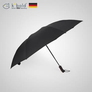 【德國kobold酷波德】亞馬遜-抗UV防潑水反向商務傘-全自動傘-黑