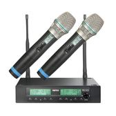 MIPRO ACT-312B/ACT-32Hx2 半U 2CH 模組化自動選訊無線麥克風系統(新系統)