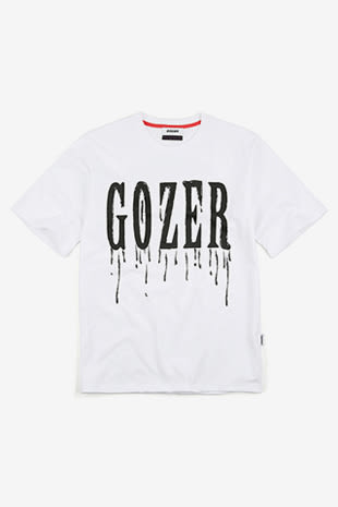 【GOZER Taiwan】CRY PRINT TEE 純棉外星人LOGO短袖T恤(白色) 現貨
