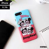 STAYREAL 鼠小小愛自拍手機保護殼 - iPhone X / Xs