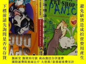 二手書博民逛書店THE罕見GREAT PET-SHOP PANIC:大寵物店的恐慌Y200392