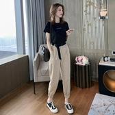 夏季2020新款短袖韓版學生束腳哈倫褲套裝女休閒洋氣時尚兩件套潮 童趣屋