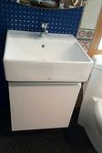 【麗室衛浴】日本TOTO L710 方型檯上盆配發泡板浴櫃