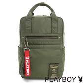 PLAYBOY- 後背包 MA-1系列-軍感綠