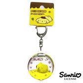 趴睡款【日本進口】布丁狗 Pom Pom Purin 立體漂浮 鑰匙圈 吊飾 三麗鷗 Sanrio - 606099