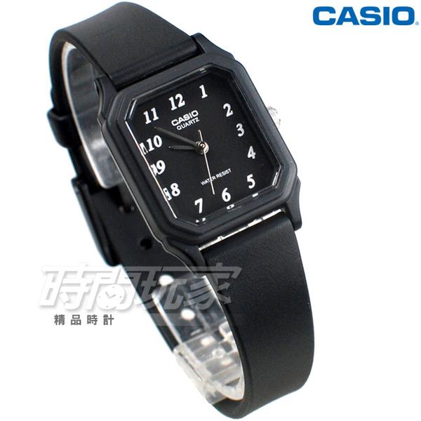 CASIO卡西歐 LQ-142-1B 簡單 輕便 小巧 運動指針錶 女錶 方形 學生錶 黑色 LQ-142-1BDF