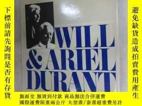 二手書博民逛書店外文書罕見WILL & ARIEL DURANT A Dual Autobiography(精裝16開,共420頁
