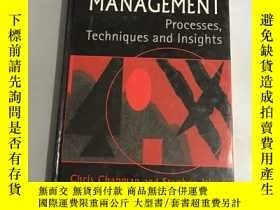 二手書博民逛書店project罕見risk management:Processes, Techniques and Insigh