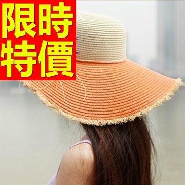 防曬帽-俏麗可愛高雅女遮陽帽56g19【巴黎精品】