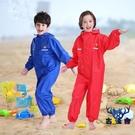 兒童雨衣無味防護連身創意個性男女童雨衣雨披寶寶【古怪舍】