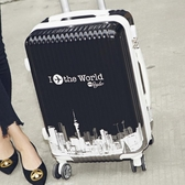 男女行李箱拉桿箱萬向輪學生韓版20寸個性拉箱22寸皮箱旅行箱 【ifashion·全店免運】