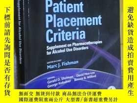 二手書博民逛書店ASAM罕見Patient Placement Criteria: Supplement on Pharmacot