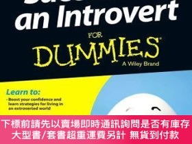 二手書博民逛書店預訂Success罕見As An Introvert For DummiesY492923 Joan Past