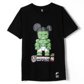 【人氣熊】夜光綠巨人浩克T恤-黑色、藏青色(請附註購買顏色)