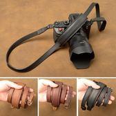 相機背帶 手工全牛皮 旁軸 微單 數碼相機 真皮 相機肩帶 背帶 掛繩 肩托款 酷動3C
