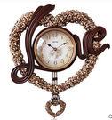 麗盛歐式時尚客廳藝術時鐘靜音搖擺鐘 Eb601『M&G大尺碼』