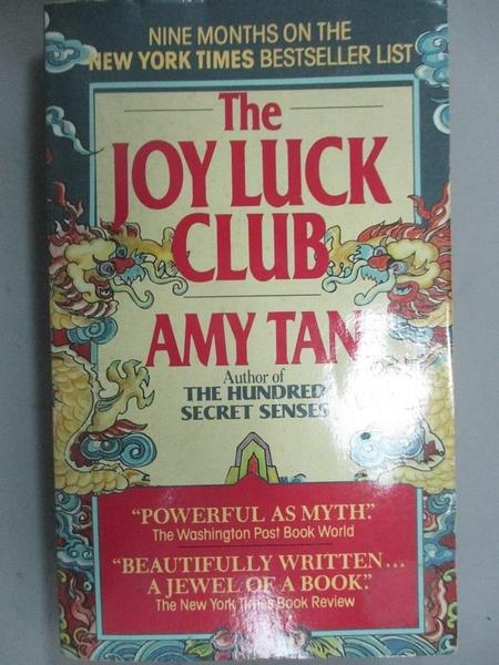 【書寶二手書T9/原文小說_NRH】The Joy Luck Club_Tan, Amy