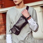 休閒韓版胸包男手機包多功能運動單肩包潮流腰包小背包時尚斜挎包