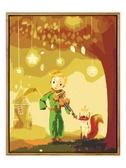 DIY油畫diy數字油畫卡通動漫小王子手工填充手繪數碼填色油彩畫 韓小姐的衣櫥