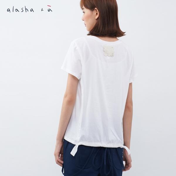 a la sha+a 好朋友讀書會印花上衣