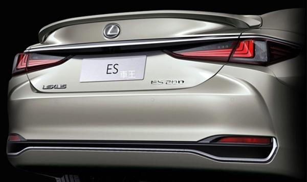【車王汽車精品百貨】Lexus ES200 ES250 ES300 原廠款 尾翼 壓尾翼 定風翼 導流板