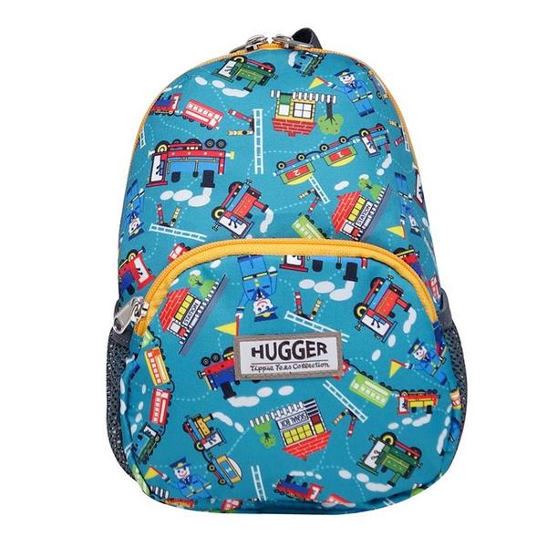 英國 Hugger 時尚孩童背包/兒童背包-嘟嘟火車