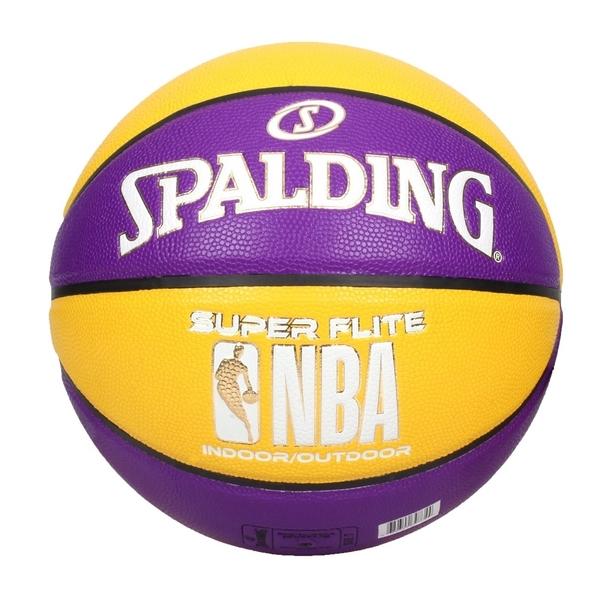 SPALDING NBA SUPER FLITE系列#7號合成皮籃球(7號球 斯伯丁≡體院≡ SPA76658