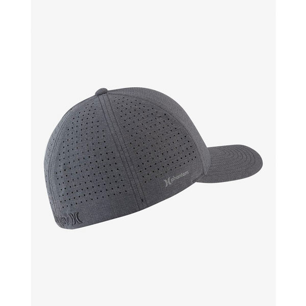 Hurley  PHNTM RIPSTOP HAT 棒球帽-PHANTOM-灰(男)
